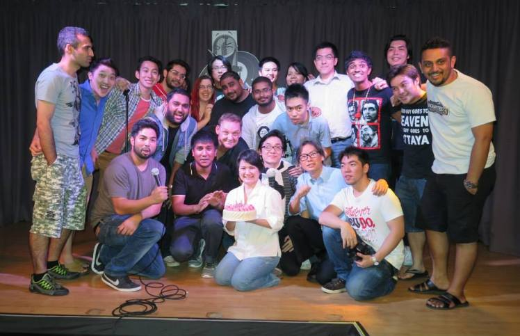 Comedians at One Mic Stand 2nd anniversary show, May 27, 2014