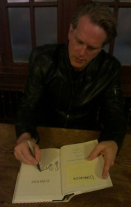 Cary Elwes book signing