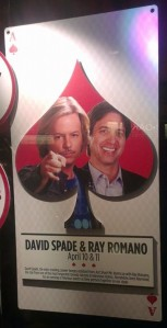 David Spade & Ray Romano Vegas ad
