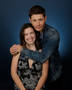 With Jensen Ackles