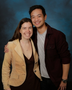 With Osric Chau