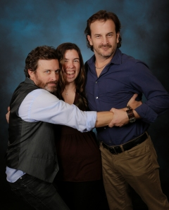 With Rob Benedict and Richard Speight Jr