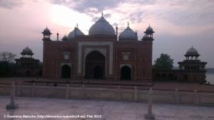 Mosque at the Taj Mahal