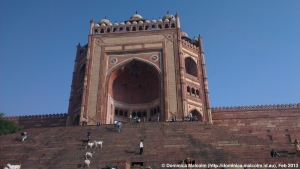 Largest gate in Asia at Fatehpur Sikri
