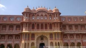 City Palace public entrance, Jaipur