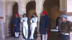 Guards at City Palace, Jaipur
