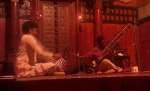 Tabla and sitar performance