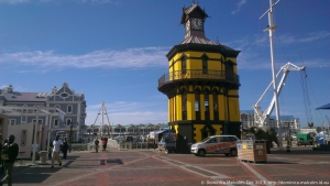 Clocktower at the V&A Waterfront, Cape Town, South Africa