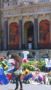 Nelson Mandela tributes at Cape Town City Hall