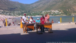 Musicians at Hout Bay, South Africa
