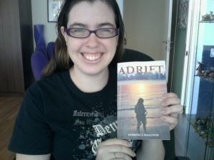 Adrift arrives in my hands