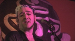 Sean TC O'Malley in screen shot from He Makes You Laugh music video
