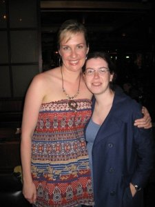 Me with Corinne Grant in 2006