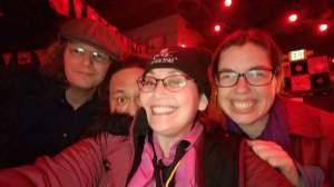 With Eric Caldwell, Garrick Paikai, and Alissa Joy Lee