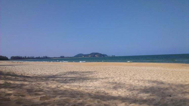 Beach in Cherating, Malaysia